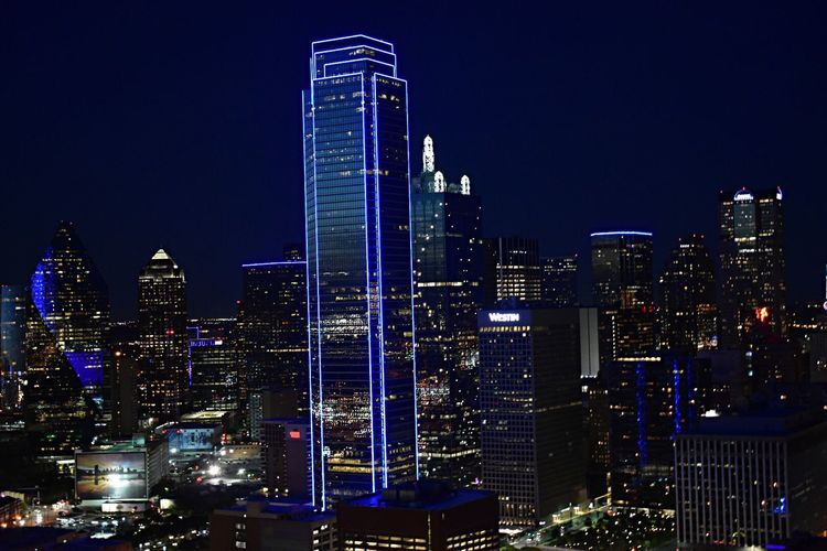 Dallas, Texas by Night Dallas Tx Dallas Texas USA Travel Downtown Nightlife Street View