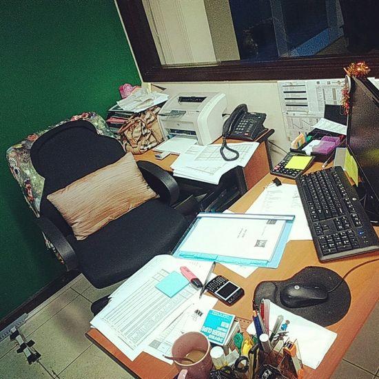 Under Pressure Paperworks Workingdesk Busyday Messy Desk
