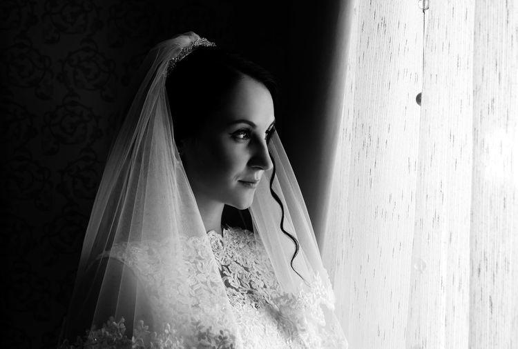 Wedding Wedding Day Wedding Photography Weddingphotographer Bride Blackandwhite Photography Blackandwhite Black And White Monochrome Portrait Portrait Of Bride