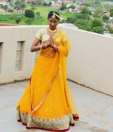 Canon_photos Indian Wear Namaste Wedding Photography Indian Bridesmaid