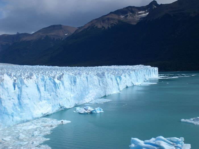 Perito Moreno Glacier Beauty In Nature Cold Temperature Day Frozen Glacial Glacier Global Warming Ice Iceberg Melting Mountain Nature No People Outdoors Scenics Sky Snow Tranquil Scene Tranquility Water Winter Lost In The Landscape
