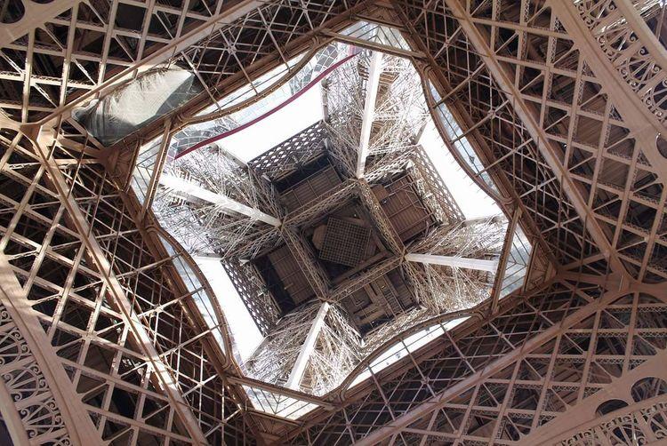 Tour Eiffel Art Architecture Geometry Eiffel Tower Paris France Trocadero