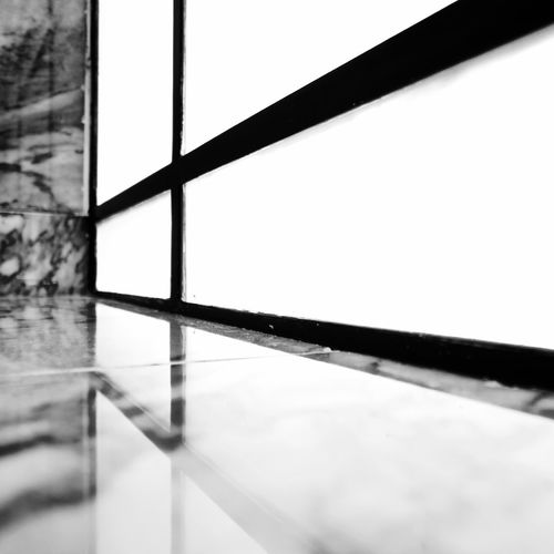 BeW Grand Hotel Do Porto Architecture Black And White Built Structure Close-up Day Flooring Glass - Material Indoors  Metal Nature No People Pattern Reflection Selective Focus Sky Tiled Floor Tree Wall - Building Feature Water Window