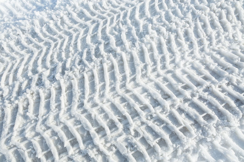 tire tracks in the snow Backgrounds Close-up Day Full Frame Iceland Nature No People Outdoors Pattern Snow Tire Tracks Tranquility Water Winter