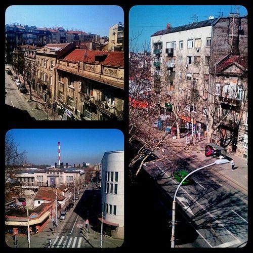 CaraDusana Dobracina Dorcol Belgrade sunnyday Saturday Spring Museum