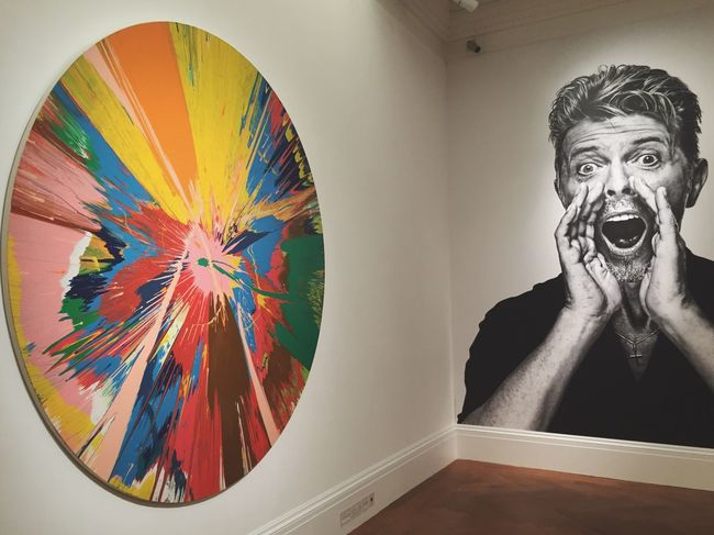 Checking out Bowie's private art collection, imagining him hand picking these pieces David Bowie Art Art Gallery Sotheby's London Art Collection Bowie