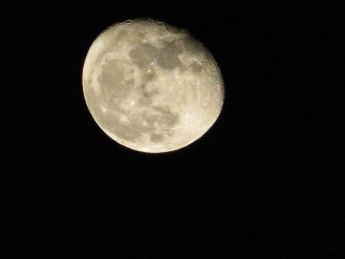 Moon Moon Surface From My Porch Tranquility No Edit/no Filter Point And Shoot Canonphotography