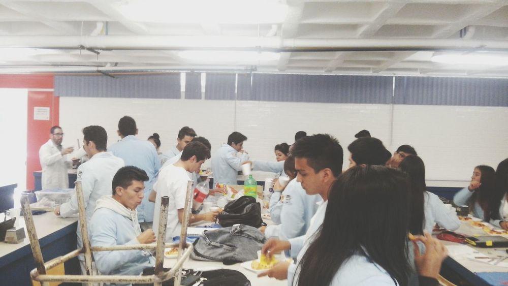Breakfast Pizza Classmates Doctors University