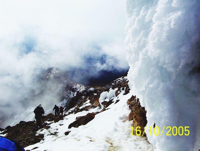 Cumbre en el Iztaccíhuatl