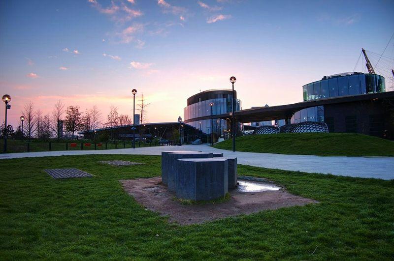 London Greenwich Sunset Architecture