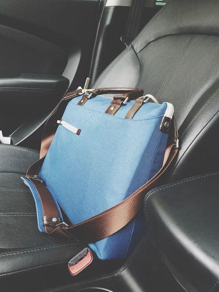 Laptop Bag Work Freelance Life Blue Bag In My Car