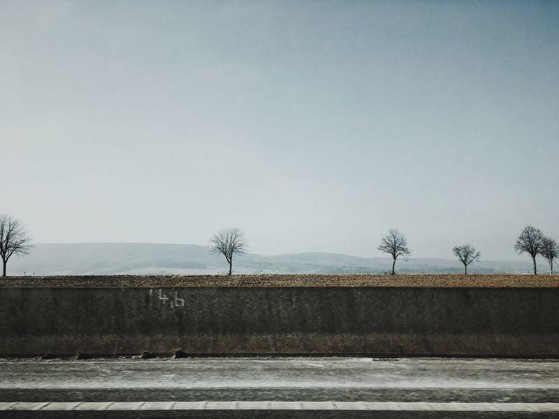 Highway Landscapes EyeEm Best Shots VSCO Photography Art Grey Germany Highway Minimalism Landscape_photography EyeEm Nature Lover Landscape Sky