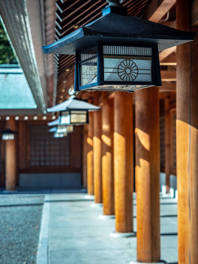Hokkaido Shrine Architecture Built Structure Building No People Architectural Column Focus On Foreground In A Row Lighting Equipment Building Exterior Day Place Of Worship Religion Belief Spirituality Wood - Material Lantern Shrine Hokkaido Shrine Sapporo Hokkaido Japan EyeEmNewHere Olympus OM-D E-M1 Mark II M.zuiko 12-40mm F2.8 Pro
