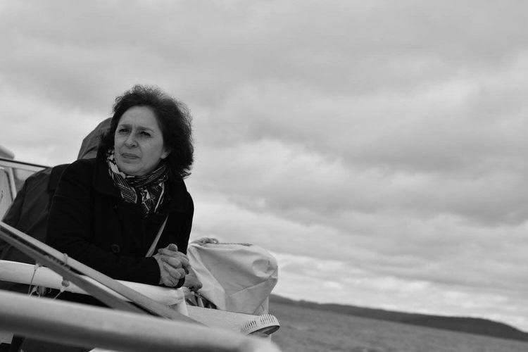 Retrato de ilusiones One Person Portrait Cloud - Sky Outdoors Day Lake Ness Scotland