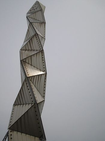 Japan Low Angle View Architecture Building Musium Directly Below Day Part Of Outdoors Sky Close-up Mito Steel