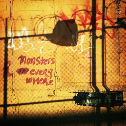 Graffiti In My Hood Monster Urban Geometry
