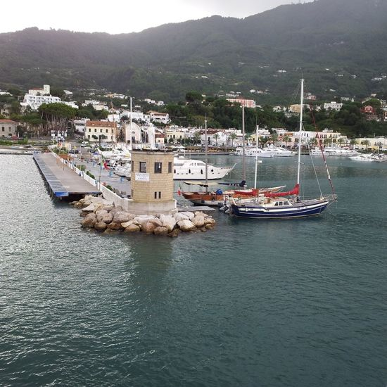 Casamicciola ( Ischia ) Sea Sail Italy Tirreno