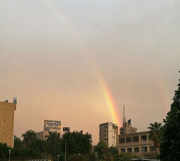 Rainbow🌈 RainyDay After Long Day At College Nature Imagine Hwaweip9 Photography