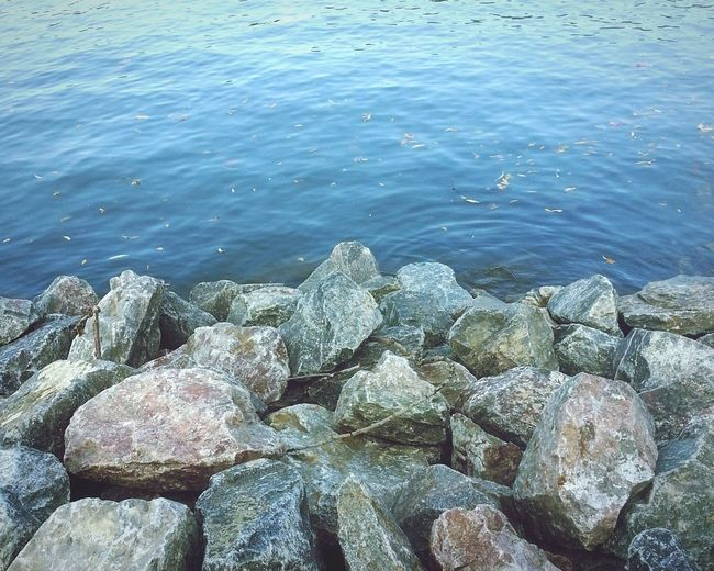 River And Rocks Neckar River Stones & Water Stones Natural Split
