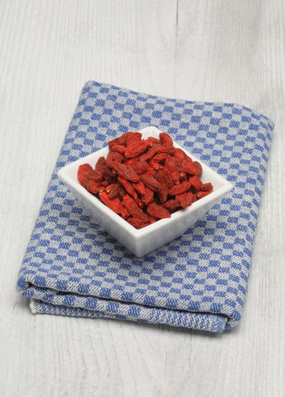 Goji, goji berries, Common wolfberry, Lycium barbarum or called Chinese wolfberry, a medicinal plant Close-up Dried Fruit Food Food And Drink Goji Goji Berries Gojiberries Healthy Eating Indoors  Lycium Barbarum Medicinal Plant No People