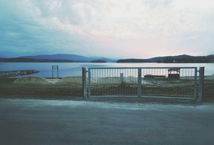 Lipno Lake Czech Republic