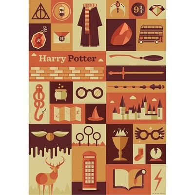 youre a potterhead if you can recognize every object in this picture :)) Potterhead