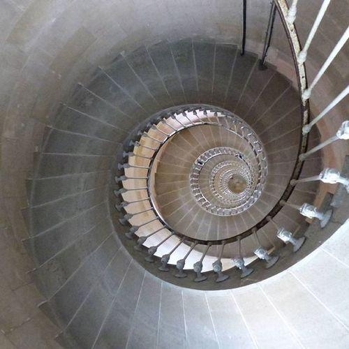 Le phare des baleines vu d'en bas Pharedesbaleines Escalier Stairs Spirale Instamoment Nofilterneeded CaptionThis Beauty Spirales Coquilledescagot Snale Shell Theworldneedmorespiralstaircases