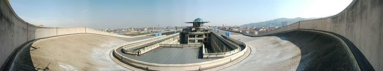 Lingotto Turin track test Oldfactory Torino RenzopianoItaly Fiat Architecture Eyeemarchitecture Panoramic Photography Panoramic View