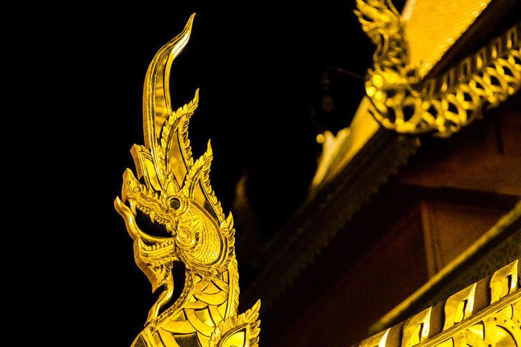 Chiang Mai | Thailand Gold Naga Doi Suthep