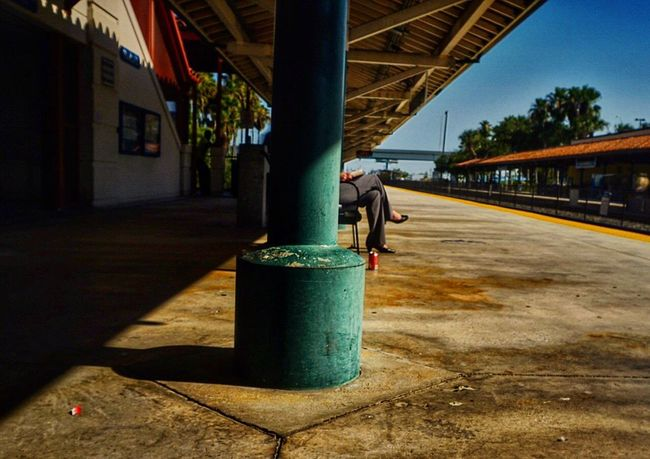 The lady waits for her train. Check This Out Train Station Waiting Colors Streetphotography