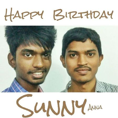 Happy Birthday Sunny Anna HappyBirthday Excited Love Close Awesome Loving Adorable Funny Caring Thickest Sweet Humble Modest Relative Happy Fun Joy Selfie Nexus5