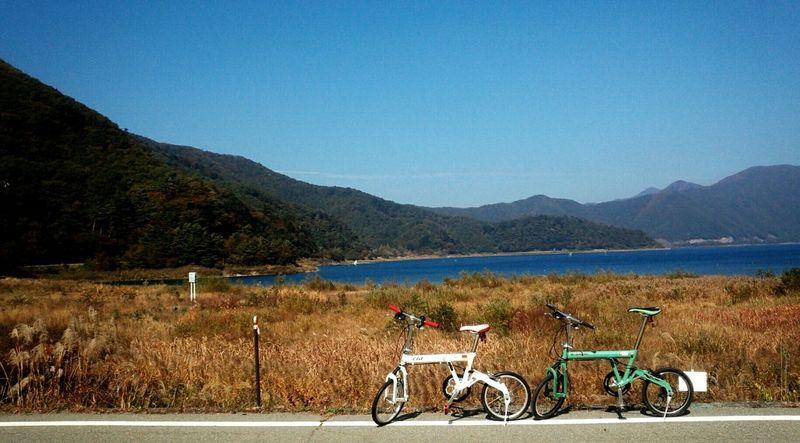 本栖湖サイクリング Motosuko Lake Cycling