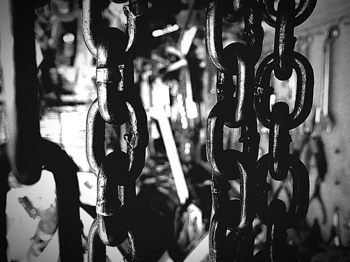 Bricolage Force Metal Noir Et Blanc Blackandwhite Outil Chaines Travail Garage