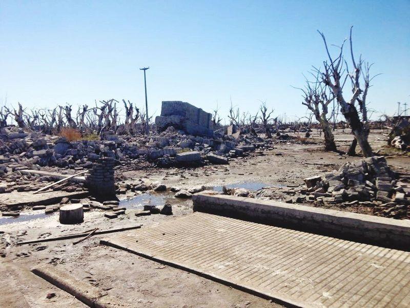 Epecuen Buenos Aires, Argentina  Destruction PuebloFantasma