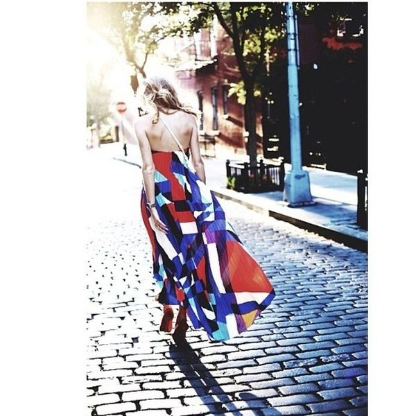 Awesome photo by my best friend thank you:) Dress Colorful Longdress