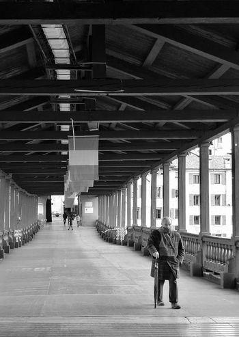 Bassano Del Grappa Bianco E Nero Biancoenero Inverno Ponte Degli Alpini