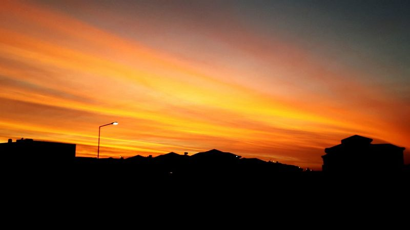 Amazing Sunset Running Sportime ??