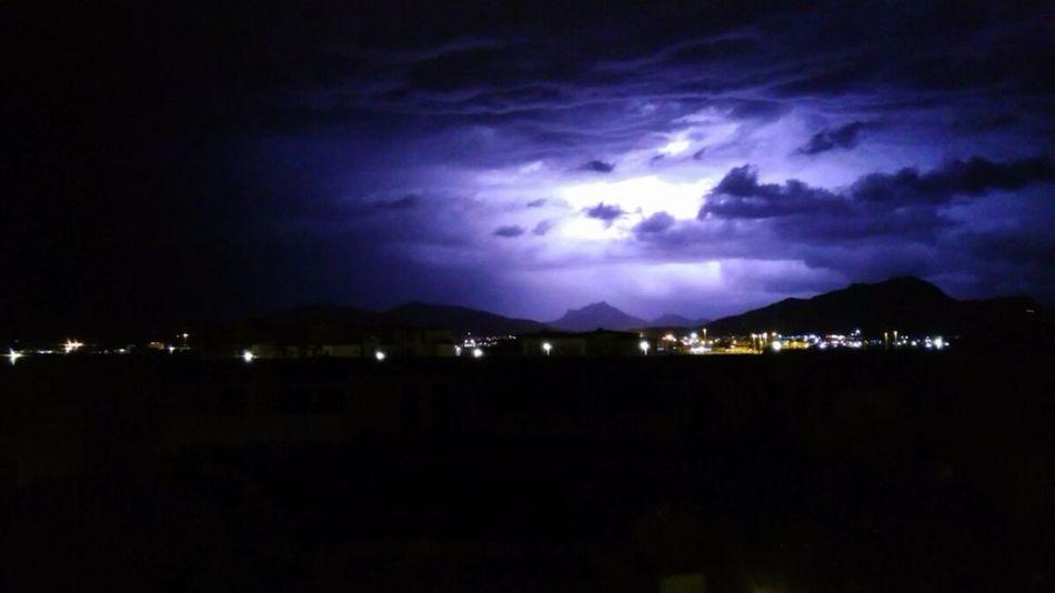 Temporale Sardegna Autunno  Thunderstorm Lightstreak