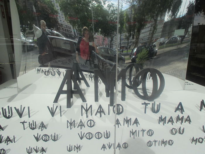 I Love In Romance Languages #beautifulletters #double Letters #latin Letters #letters In The Window #love #MESSAGE #Portuguese Letters #reflection #reflection In The Window #shopwindow #urban Detail #Window #words #writing Close-up Day Land Vehicle Letters Men Outdoors People Real People Text Transportation The Street Photographer - 2017 EyeEm Awards