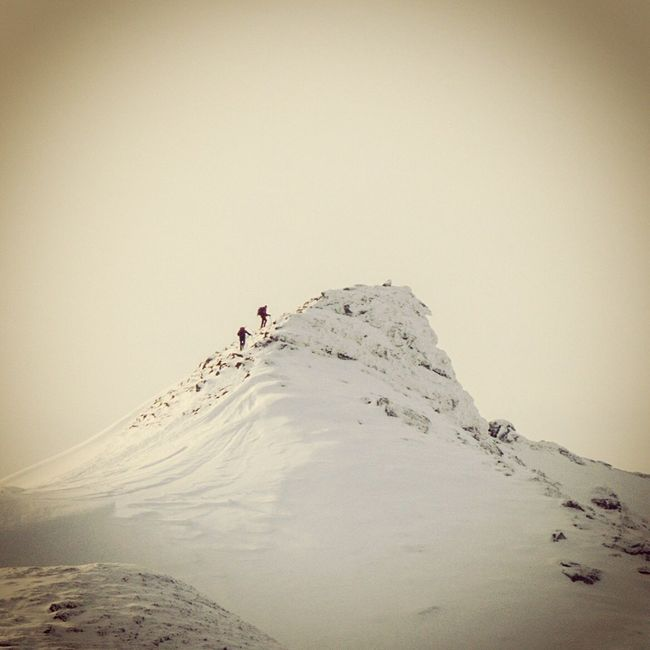Summit Mountains Mountain Achivement Inspirational Hiking Mountaineering Team Work Snow Ice Winter Winter Wonderland Adventure Outside Outdoors Outdoor Photography Scotland The Top  Winter Mountaineering Feel The Journey Adventure Club