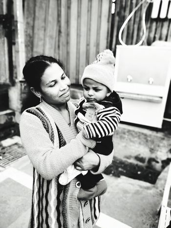 A mother fighting alone with the world for her 3 days-old baby. Hats off to such a mother. Respect. Mentalhealth  NGO EarthSaviourFoundation Respect Love Mental Health Awareness Psychology Gurgaon Happiness First Eyeem Photo