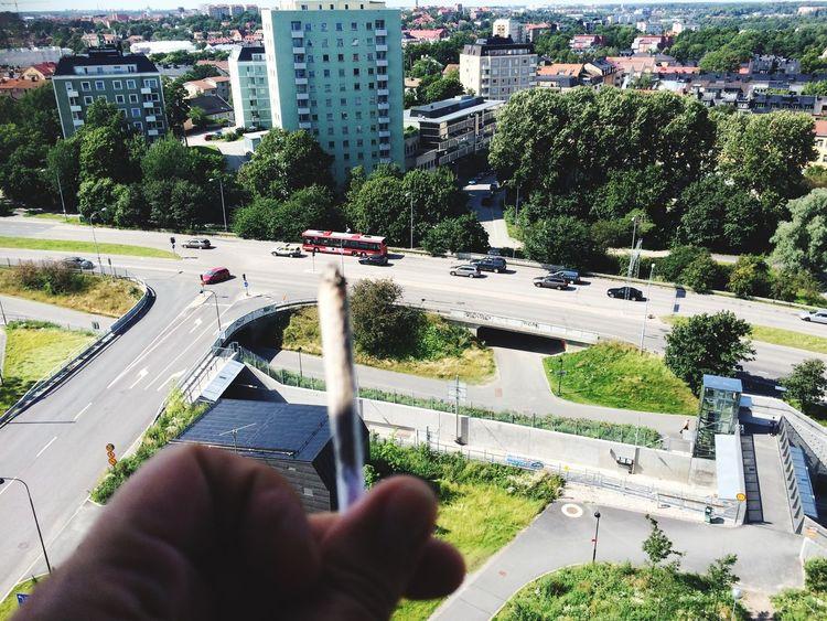 Weed Smoke Weed Smoking Hej Sverige