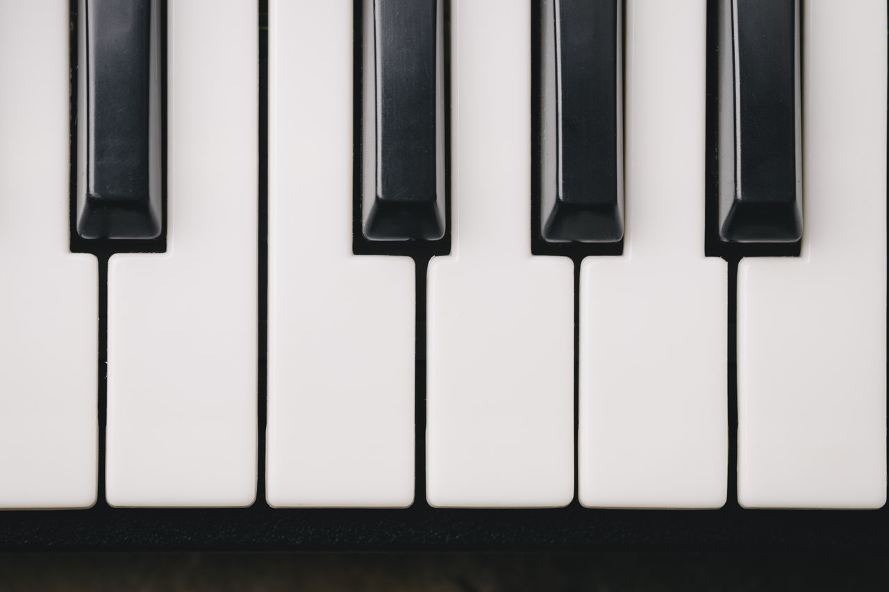 Keyboard synthesizer Arts Culture And Entertainment Black Buttons Close-up Composer Electro Instrument Key Keyboard Instrument Man Music Musical Instrument No People Note Piano Piano Piano Key Player Playing Song Songwriter Synthesizer Technology White Wood - Material