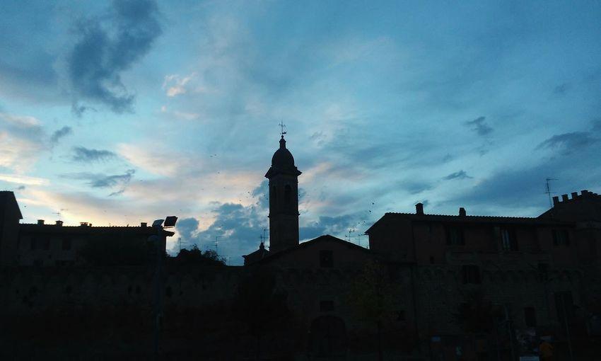 Tuscany Italy Buonconvento Sunset Coolasfuck Cities At Night