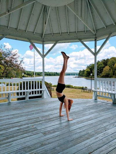 And everyday she shows the world her grace! Full Length Day Handstand  Outdoors Sky Getty Images Flexibility Young Adult One Young Woman Only Love ♥ Happy Day❤ Gazebo Maine Photography 🌲 Getty+EyeEm Collection Cloud - Sky AwesomeDay Took Forever To Do Perfectmoments Kids Rule! EyeEmNewHere EyeEm Selects Getty Images Premium Collection Breathing Space The Week On EyeEm Followme One Step Forward Be. Ready. Step It Up EyeEm Ready