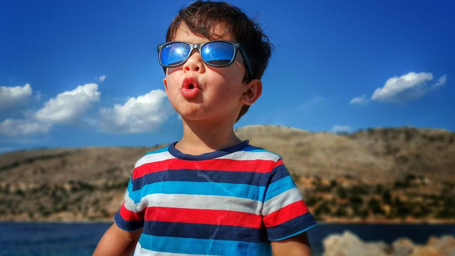 The Essence Of Summer Happy Little Boy My Son My Love My Life Enjoying The Sun Enjoying Life Summertime Summer Views Childhood Children Photography Kids Photography Sunglasses Sun Reflection Funny Faces Happy People Malephotographerofthemonth The Portraitist - 2016 EyeEm Awards