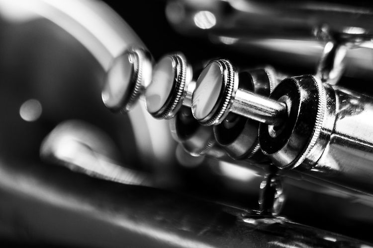 Cropped Image Of Musical Instrument