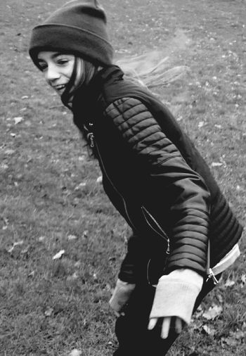 Walking on Icy Water in the Grass Winter Playing Careful Fun Funtimes Breaking Ice Wet Feet Holdmyhand Children Photography Girl Blackandwhite Photography Blackandwhite Black & White Outside Photography Cold Days Movement Photography Capturing Movement Windy Day Coldweather Photography In Motion