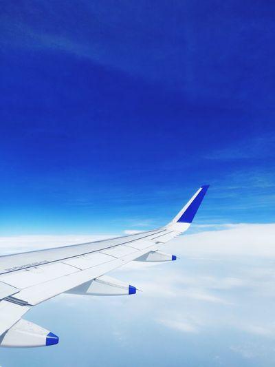 below the sky