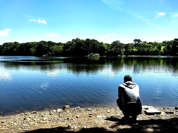 Beautiful walk at Worthington Lakes this afternoon ❤️☀️ Lake Reflection Sunnyday Saturday Afternoon Walk ChilledAfternoon Beautiful Day Boyfriend EyeEmNewHere The Week On EyeEm Lost In The Landscape
